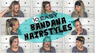 10 Easy Bandana Hairstyles | Blond_Beautyy