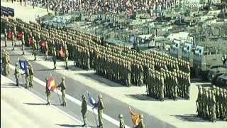 Военный парад в Японии. 27 октября 2013 года