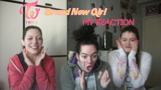 TWICE - Brand New Girl MV Reaction