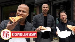 (Richard Jefferson) Barstool Pizza Review - Famous Calabria Pizza