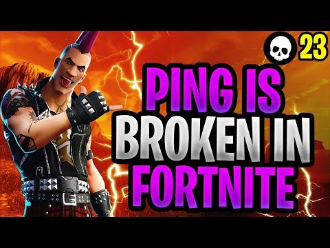 The MAJOR Problem With Ping In Fortnite! (How To Get Lower Fortnite Ping  PS4 + Xbox + PC)