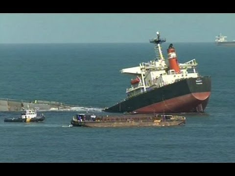 No signs of pollution from stranded Richards Bay ship reported yet