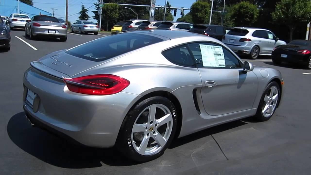 2014 porsche cayman platinum silver metallic stock 109399 youtube - 2015 Porsche Cayman Silver