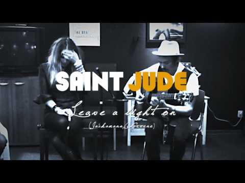 Saint Jude - Leave a Light on (acoustic radio gig)