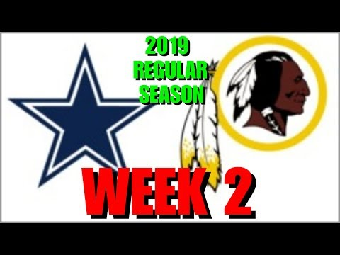 ☆**LIVE STREAM** Reaction ☆ 2019 REGULAR SEASON WEEK 2: Dallas Cowboys @ Washington Redskins
