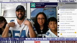 ☆**LIVE STREAM** Reaction ☆ 2019 REGULAR SEASON WEEK 2: Dallas Cowboys @ Washington Redskins