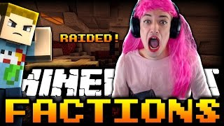 Minecraft: THEY RAIDED US (Princess Crainer) | Factions VS SSundee - Ep: 17