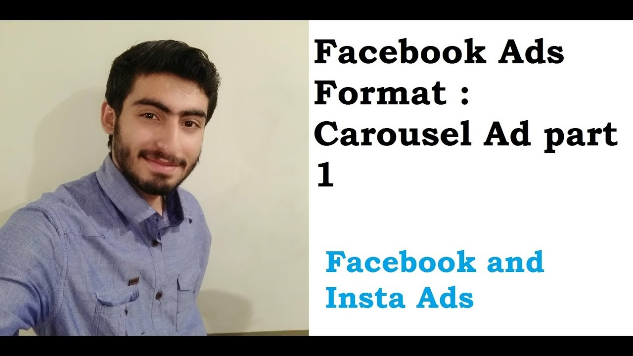 20. Facebook Ad Formats: Carousel Ads part 1 in Urdu/Hindi