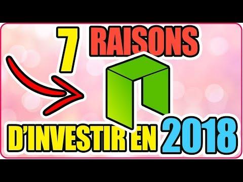 [ FR ] ▶ 7 RAISONS d'INVESTIR sur la CRYPTO NEO (NEO) ✅ en 2018