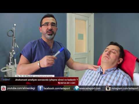 Jinekomasti Ameliyatı Sonrası İyileşme Süresi