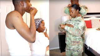 GET READY WITH US MILITARY COUPLE EDITION  MEECH AND ROCKY