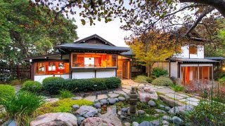 Classical Japanese Meets American Contemporary in Tiburon, California