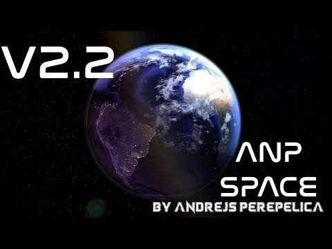 """CINEMA 4D PROJECT V2.2""""ANP SPACE"""" FOR Graphics Y12"""