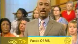 Montel Williams - Guests Living With Multiple Sclerosis PART #01.avi