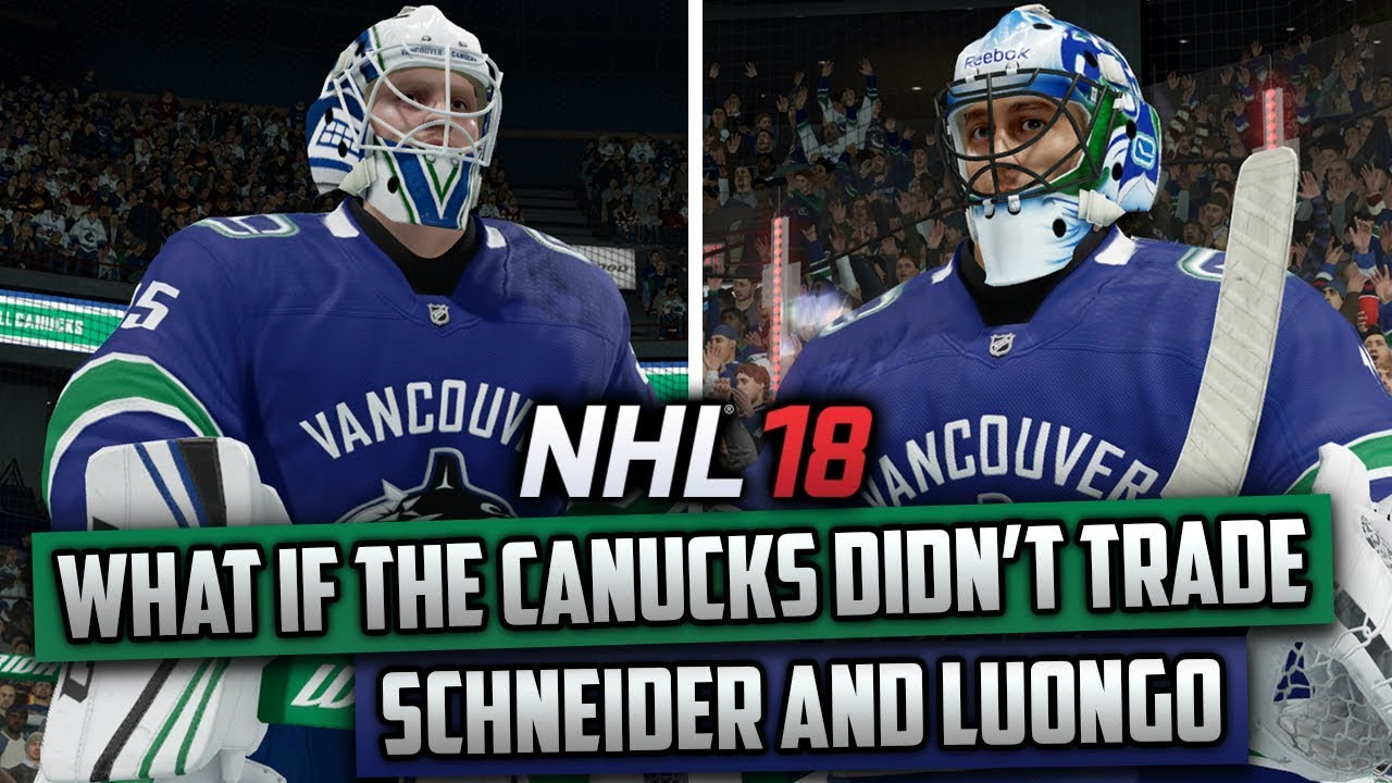 What If The Canucks Didn T Trade Cory Schneider And Roberto Luongo