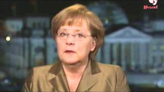 2012 Новогоднее обращение Меркель (Германия) (бел.) [Litva.TV]