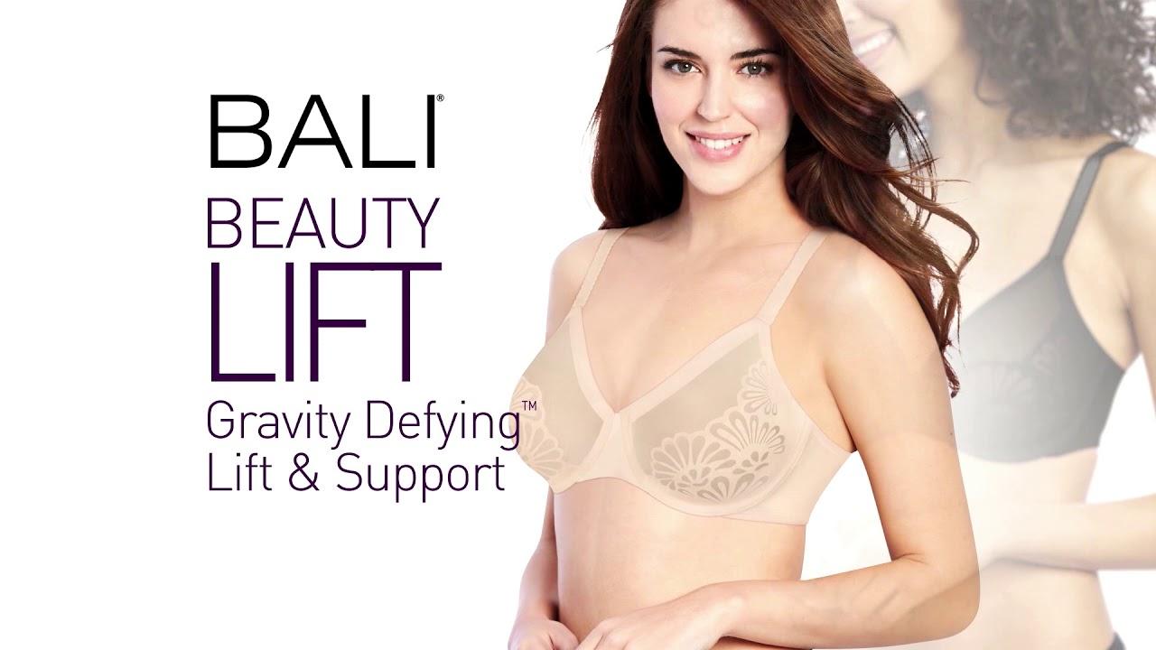 Bali Womens Beauty Gravity Defying Natural Lift Wireless Bra