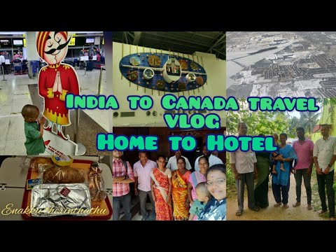 CANADA--INDIA travel VLOG|All process explained|Hotel Booking|Quarantine| Travel restrictions in CA