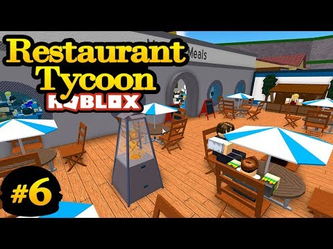 Restaurant Tycoon #6 - PATIO DESIGN | Roblox