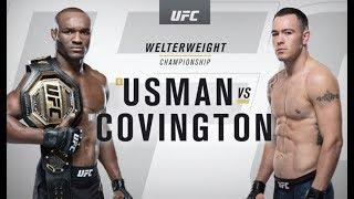 UFC 245: Kamaru Usman vs Colby Covington Recap