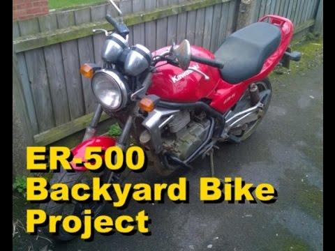 Kawasaki Er 500 Backyard Bike Project Episode 10 Fork Seals