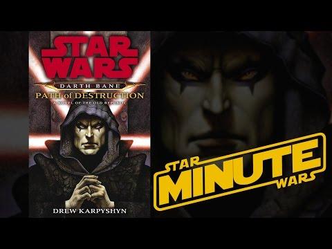 Darth Bane: Path of Destruction by Drew Karpyshyn Legends  Star Wars Minute