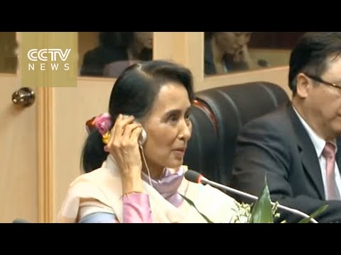 ASEAN FM meeting: Wang Yi and Aung San Suu Kyi promise to strengthen cooperation