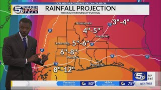 Subtropical Storm Alberto Forecast from Alan Sealls on May 25, 2018