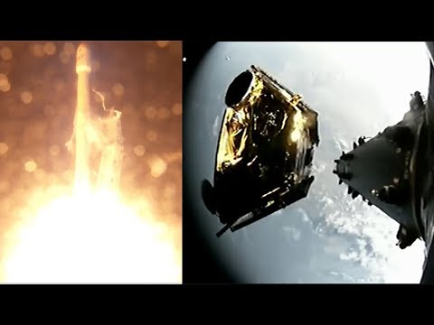 SpaceX Falcon 9 launches Iridium-3 & satellites deployment, 9 October 2017