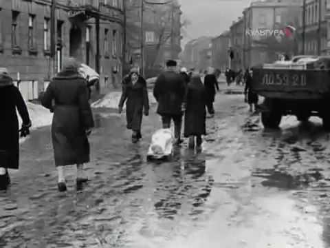 Блокадный Ленинград - Санкт-Петербург - YouTube