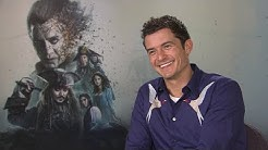 Orlando Bloom loved catching up with Keira Knightley in POTC5