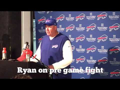 Buffalo Bills Rex Ryan post game game vs Patriots 10/2/16
