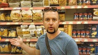 Питание в Черногории: цены на продукты в магазине город Бар
