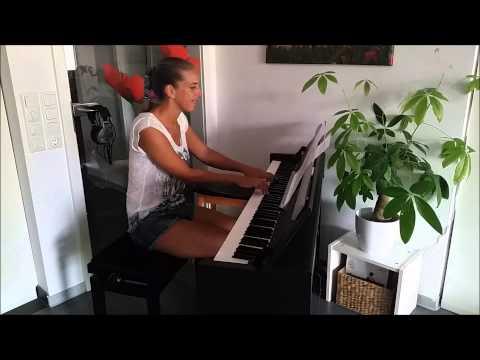 Intro Tom & Jerry deutsch - Klavier - piano - Vielen Dank für die Blumen