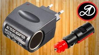 Адаптер-переходник 220-12В, 500мА (прикуриватель) из Китая. Посылка AliExpress (20)