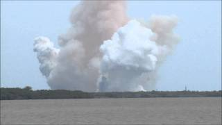 Launch of STS-135 Space Shuttle Atlantis OV-104