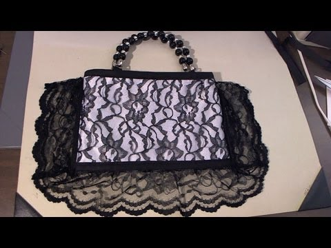 Easy to sew - Giorgio Armani inspired handbag / tambien en espanol