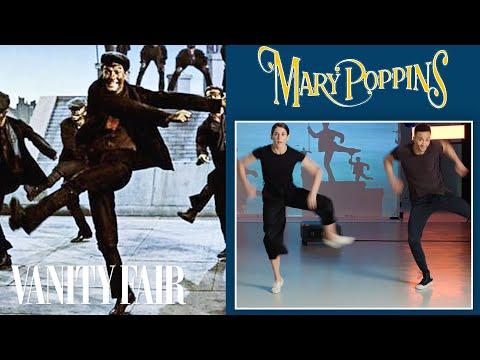 Choreographers Break Down A Mary Poppins Dance Scene | Movies In Motion | Vanity Fair