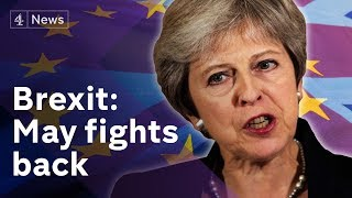Brexit: May demands respect after EU rejects her plan thumbnail