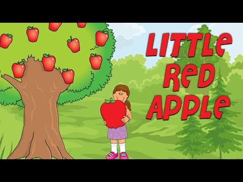 Download Little Red Apple | With Actions and s | English Nursery Rhymes For Kids Mp4 baru