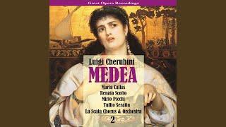 """Medea: Act II - """"Solo un pianto con te versare"""""""