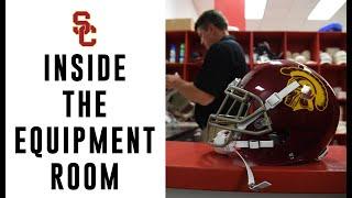 USC Football - Inside the Equipment Room thumbnail