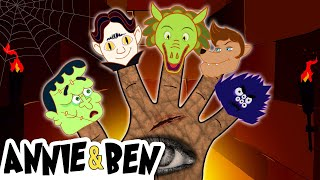 The Monster Finger Family! Halloween Songs for Kids | Nursery Rhymes and Baby Songs by Annie and Ben