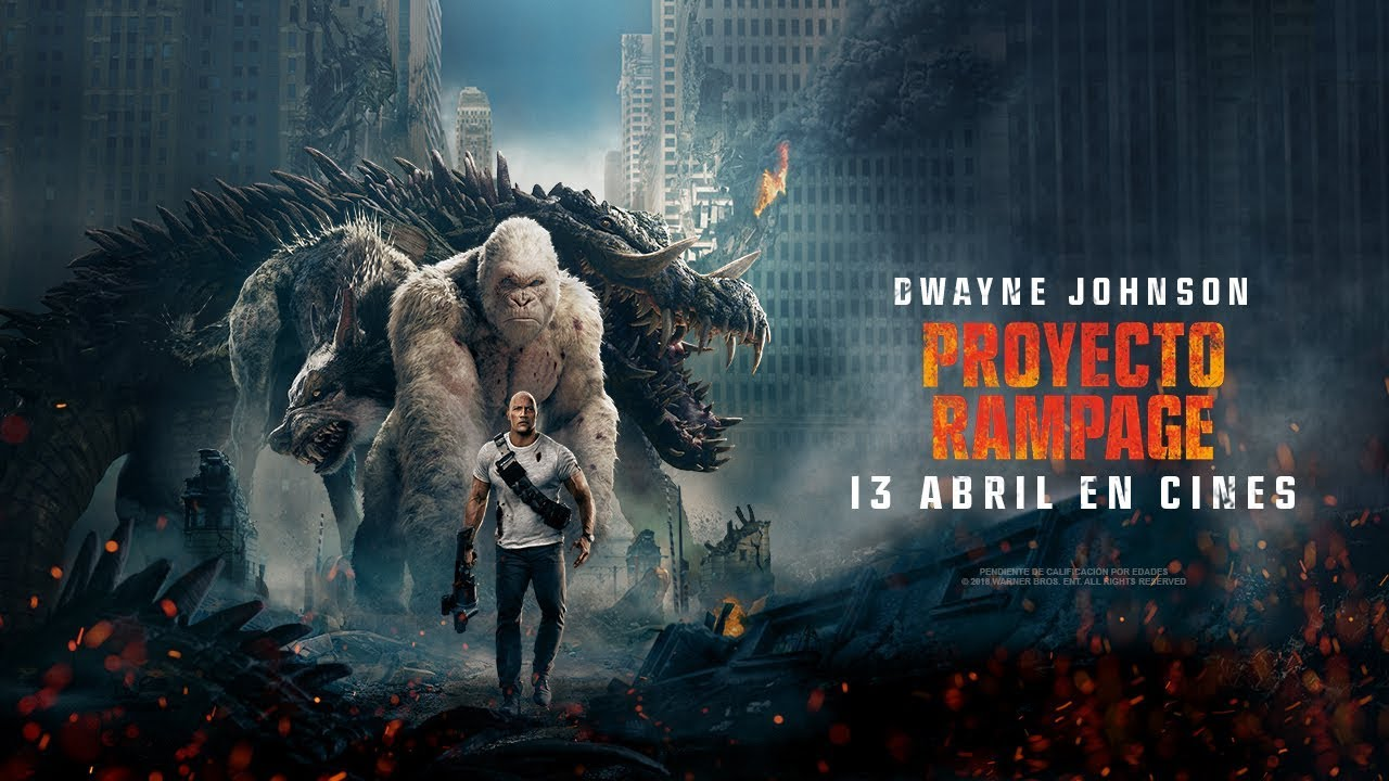 Rampage Movie Hd Wallpapers Download 1080p: Proyecto Rampage