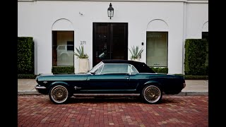 Production Car Review - House of Kolor Teal Revology 1966 Mustang GT convertible