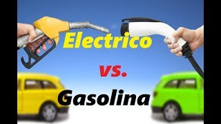 AUTOS A GASOLINA VS AUTOS ELECTRICOS