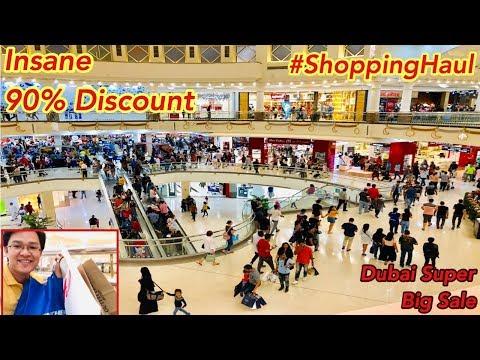 Shopping Haul Insane 90% Discount Sa Super Big Sale Dubai 2019 | Deira City Center
