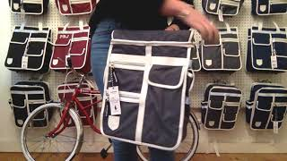 How to attach a Goodordering Pannier bag