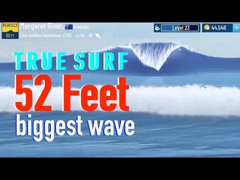 52+ FT TRUE SURF BIGGEST WAVE BEST BOARD SURFING APP WSL (EPISODE 28)