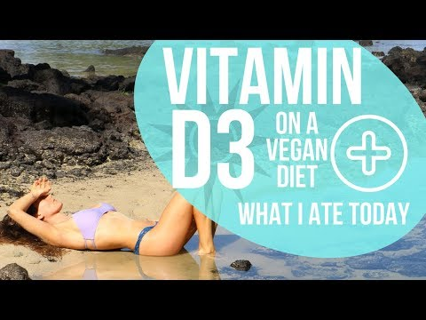 Vitamin D on a Vegan Diet - Everything you need to know + What I Ate Today